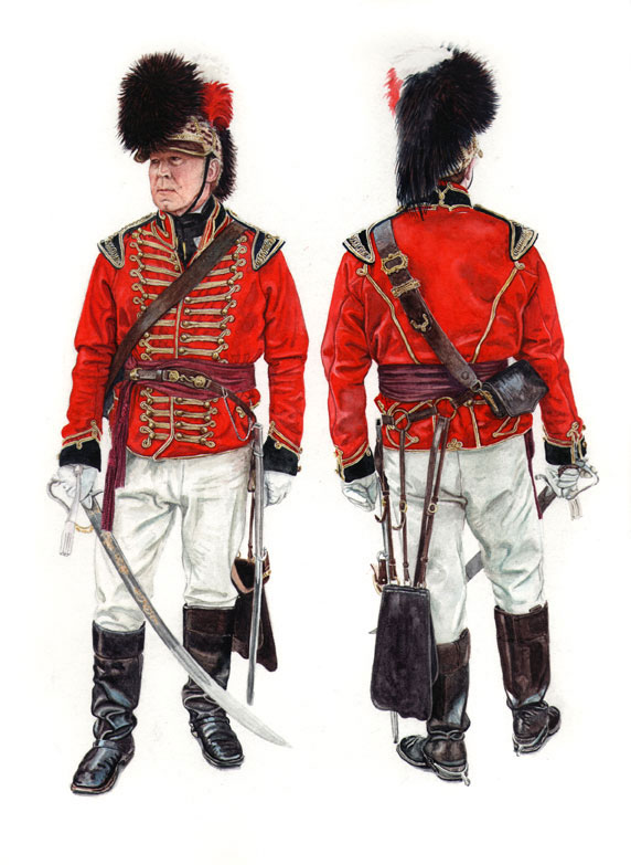 Worcester Yeomanry Cavalry 181...